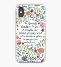 Jeremiah 29:11 iPhone Case