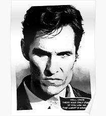 True Detective - The light's winning Poster