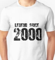 Legend since 2000 Unisex T-Shirt