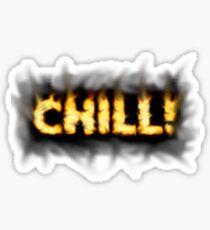 SOLD - SMOKIN' HOT TYPOGRAPHY Sticker