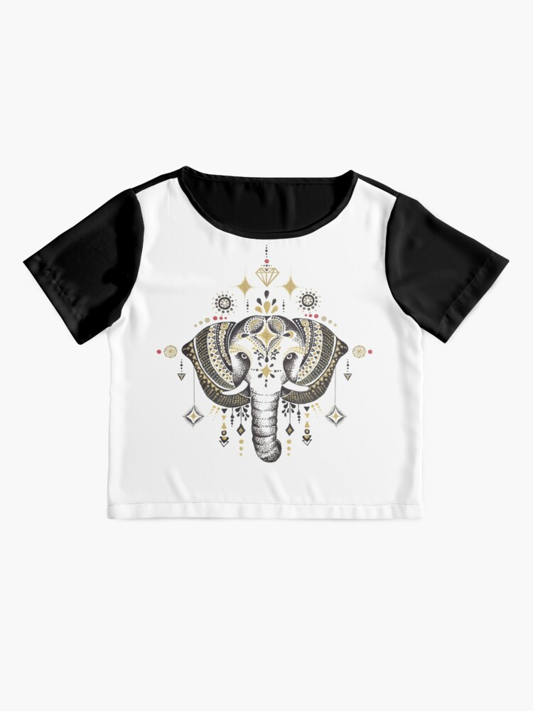 Vista alternativa de Blusa Bohemian Elephant