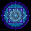 Third Eye Chakra Mandala - Ajna by mimulux