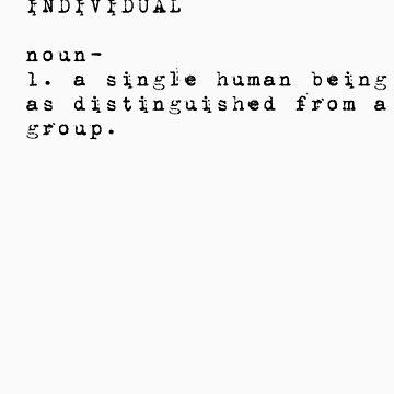 Individual by AndrewBlackie