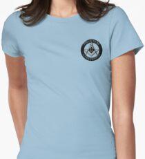 Stolz, ein Freimaurer zu sein Tailliertes T-Shirt für Frauen