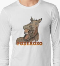 Powerful Horse Camiseta de manga larga