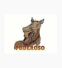 Powerful Horse Lámina artística
