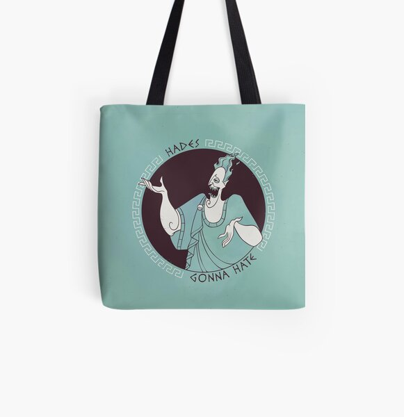 Hades gonna Hate All Over Print Tote Bag