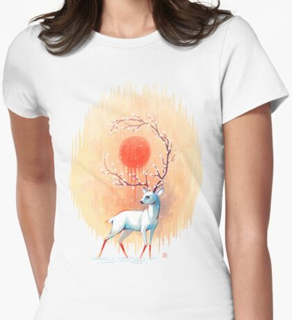 Spring Spirit Womens Fitted T-Shirt