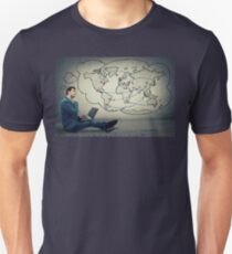 global network concept Unisex T-Shirt