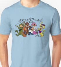 Top Cat, music lesson, summer T shirt, retro, vintage Unisex T-Shirt