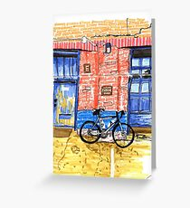 Like to ride Greeting Card