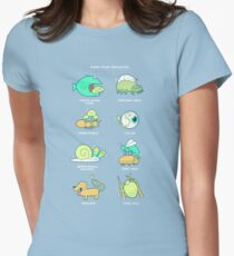 Know your parasites Women's Fitted T-Shirt