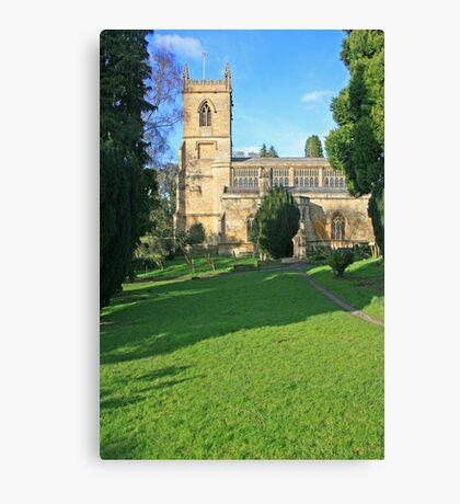 St Marys, Chipping Norton Canvas Print