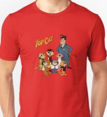 Top Cat, Vintage Retro Cartoon, summer  T-Shirt