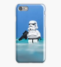 Lego Rogue One Stormtroopers on the Beach iPhone Case/Skin