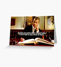 Gilmore Girls Michel Greeting Card