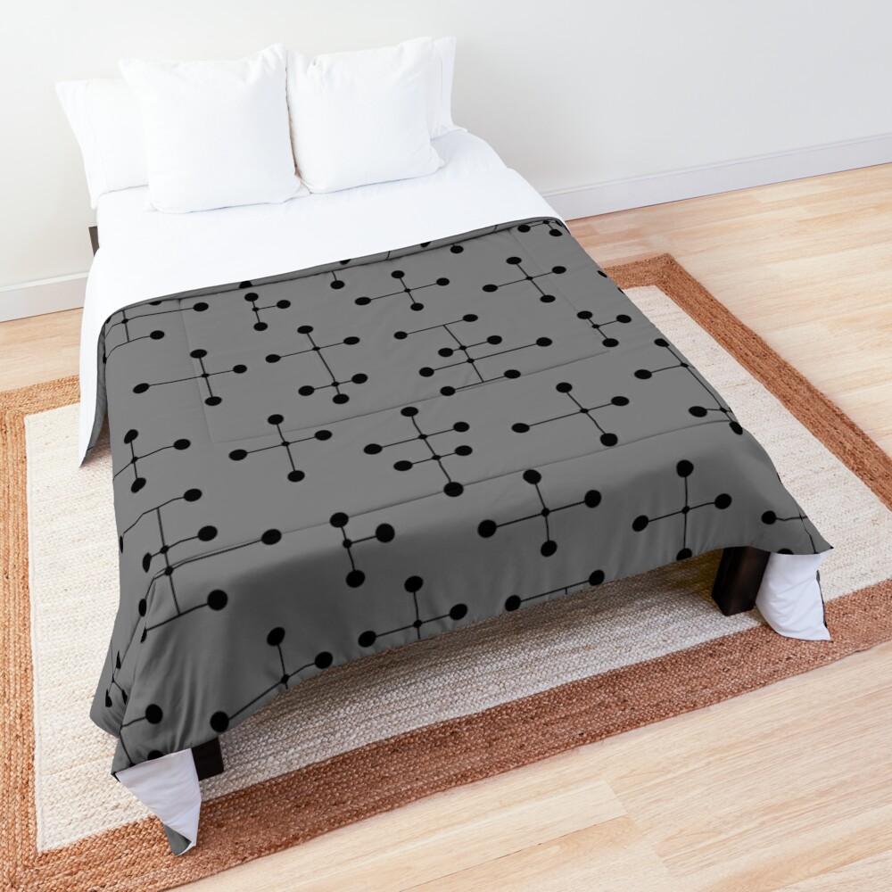Midcentury Modern Dots 111 Comforter