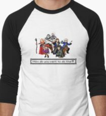 Vox Machina - Pixel Art Men's Baseball ¾ T-Shirt