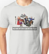Vox Machina - Pixel Art Unisex T-Shirt