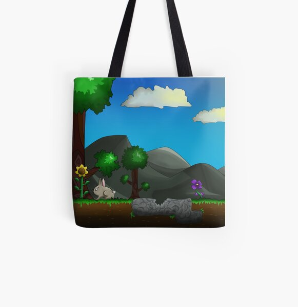 Lepus illustration design tote bag canvas shopping