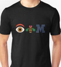 EYE BEE M Rebus paul rand Unisex T-Shirt