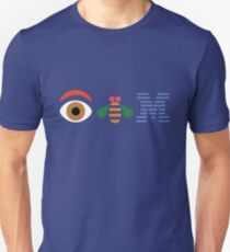 EYE BEE M Rebus paul rand Unisex T-Shirt