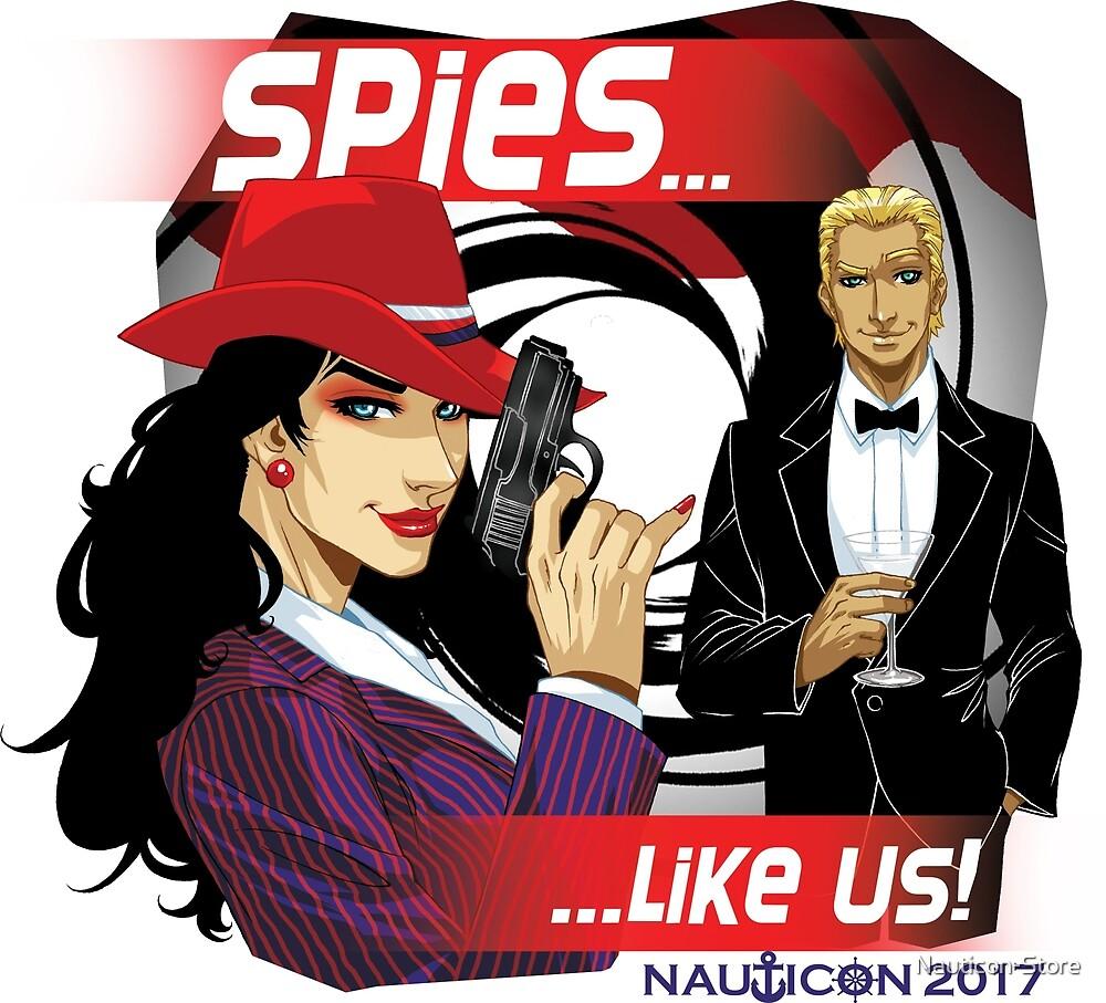 NAUTICON 2017 - SPIES...LIKE US! by Nauticon-Store
