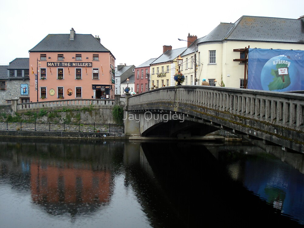 Reflections on the River Nore by Jay Quigley