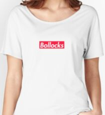 Bollocks - Exile Designs Women's Relaxed Fit T-Shirt