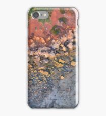 gantheaume cost line sunset arial low tide  iPhone Case/Skin