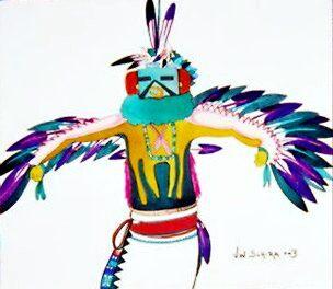 Eagle Dancer by Jamie Winter-Schira