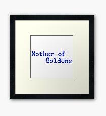 Golden Retrievers Framed Print
