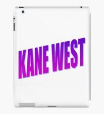 kane west iPad Case/Skin