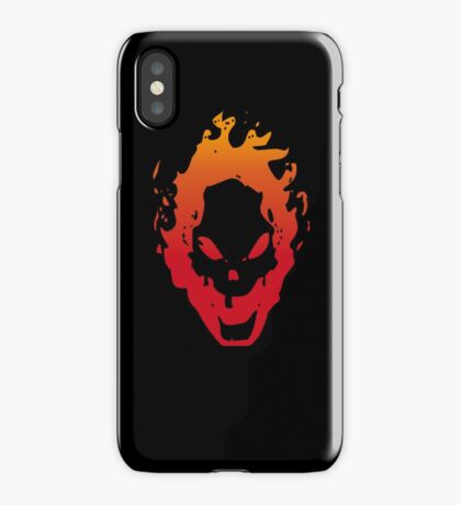 Ghost Smiler iPhone Case/Skin