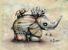 Upside Down Elephants by Karin Taylor