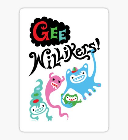Gee Willikers   Sticker