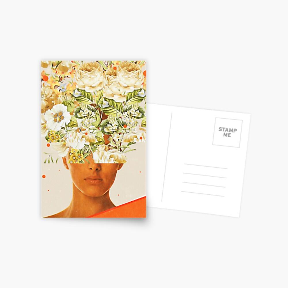 SuperFlowerHead Postcard