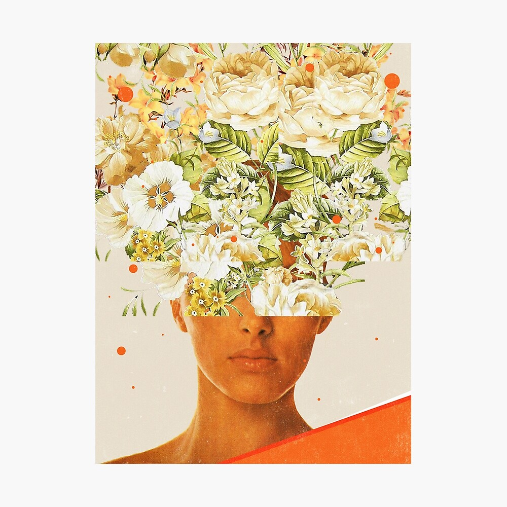 SuperFlowerHead Photographic Print