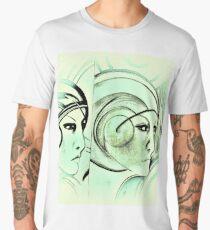 sci fi dreaming Jacqueline Mcculloch Men's Premium T-Shirt