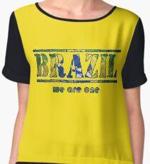 Brazil Women's Chiffon Top