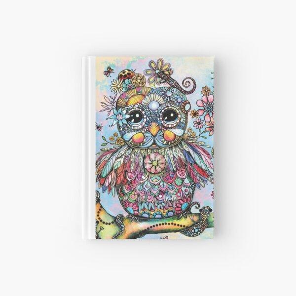 Rainbow of Peace Owl Hardcover Journal
