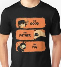 The Good, the Father and the Pig  Unisex T-Shirt