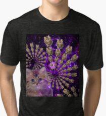 Kitty-rific Tri-blend T-Shirt