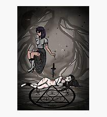Dark Ritual Photographic Print