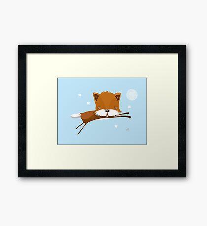 Flying Fox Framed Print