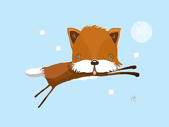 Flying Fox by Karin Taylor