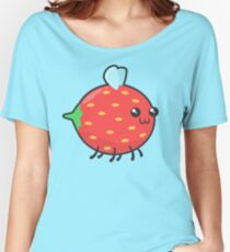 Strawbee Green Women's Relaxed Fit T-Shirt