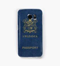 Syldavian Passport (iPhone case) Samsung Galaxy Case/Skin