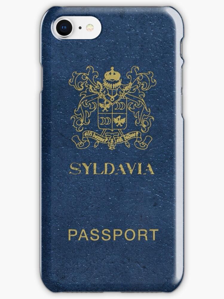 Syldavian Passport (iPhone case) by ikado
