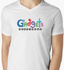 Gadgets Anonymous  Mens V-Neck T-Shirt